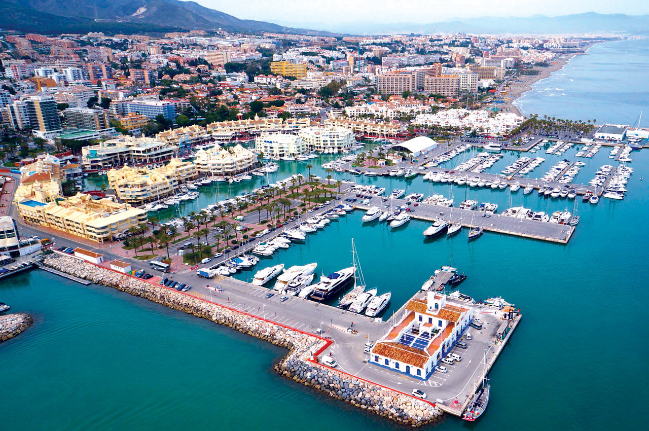 Benalmadena-marina-aerial-view